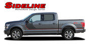 """SIDELINE : Ford F-150 """"Special Edition Appearance Package Style"""" Hockey Stripe Vinyl Graphics Decals Kit for 2015-2016 Models (M-PDS3823)"""