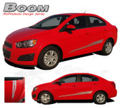 BOOM : Chevy Sonic Vinyl Graphics and Decals * NEW * Chevy Sonic Vinyl Decals Package for the Models! A fantastic upgrade option for your vehicle, using only Premium Cast 3M, Avery, or Ritrama Vinyl!