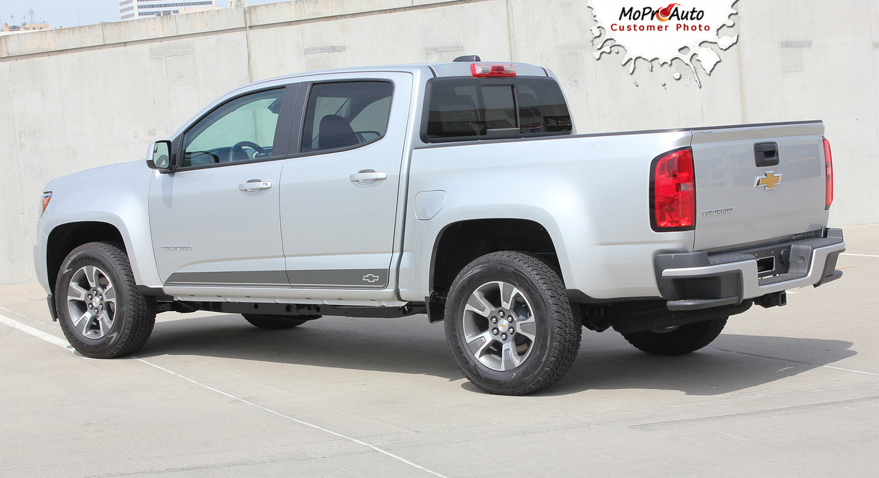 RAMPART : 2015-2016-2017 Chevy Colorado Lower Rocker Panel Accent ...