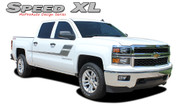 REPLACEMENT SECTIONS FOR - SPEED XL : 2000-2016 Chevy Silverado or GMC Sierra Vinyl Graphic Decal Stripe Kit