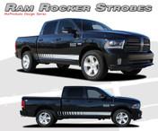 REPLACEMENT OPTIONS FOR RAM ROCKER STROBES : 2009 2010 2011 2012 2013 2014 2015 2016 Dodge Ram Lower Rocker Panel Stripes Vinyl Graphics Kit
