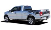 REAPER RIP : Ford F-150 Side Truck Bed 4X4 Mudslinger Style Vinyl Graphic Stripes and Decals Kit for 2015 2016 2017 2018 Models (M-PDS-4775)