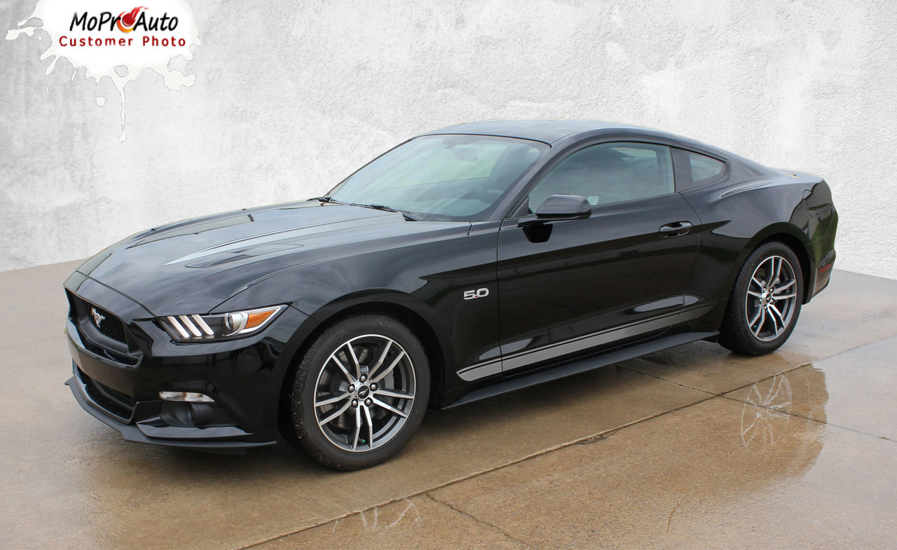 2015 2016 2017 2018 Fade Rockers Ford Mustang Faded