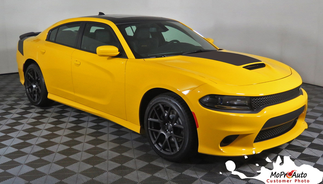 All Types 2006 charger daytona : 2015 2016 2017 2018 SINISTER AIR HOOD Dodge Charger Vinyl Graphic ...