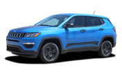 2017 2018 Jeep Compass COURSE Vinyl Graphics Stripes and Decals Kit! Engineered specifically for the new Jeep Compass, this kit will give you a factory OEM upgrade look at a discount price! Cut to fit sections ready to install! Fits Jeep Compass Lower Body Line Side Rocker Panels . . .