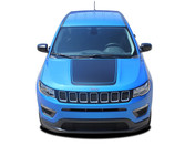 2017 2018 Jeep Compass BEARING Vinyl Graphics Stripes and Decals Kit! Engineered specifically for the new Jeep Compass, this kit will give you a factory OEM upgrade look at a discount price! Cut to fit sections ready to install! Fits Jeep Compass for Center Hood Blackout Applications . . .