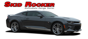 2016 2017 2018 Camaro SKID ROCKERS : Chevy Camaro Lower Rocker Panel Door Stripes Vinyl Graphics and Decals Kit (fits ALL MODELS) (M-PDS-4055)