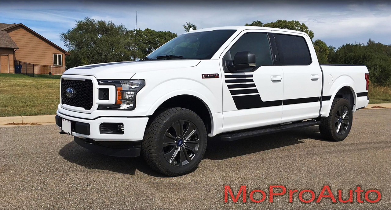 Lead Strobe Ford F 150 Stripes Decals Special Edition