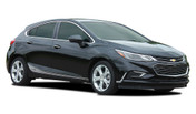 SPAN : Chevy Cruze Lower Rocker Door Stripes 2017-2018 Vinyl Graphic Decals Hatchback or Coupe Kit (M-PDS-5108)