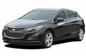 OVERPASS : Chevy Cruze Stripes Upper Door Accent Decals 2017-2018 Vinyl Graphics Hatchback or Coupe Kit (M-PDS-5104)
