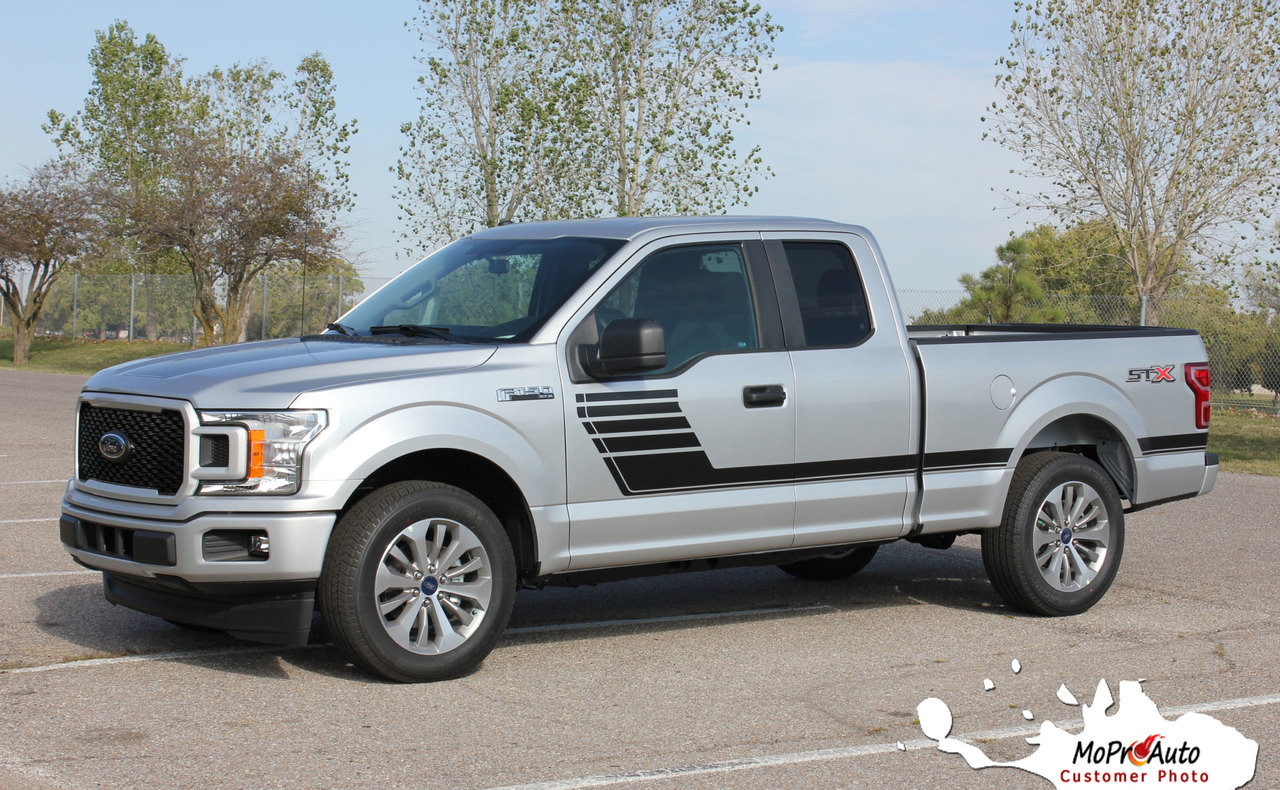 Speedway Ford F 150 Stripes Decals Special Edition Lead