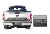 SPEEDWAY TAILGATE : Ford F-150 Decals Rear Blackout Inlays Vinyl Graphic Stripe Kit for new 2018 Models (M-PDS-5248)