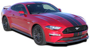 "STAGE RALLY SLIM : 2018 Ford Mustang Racing Stripes 7"" Wide Rally Decals Vinyl Graphics Kit (M-PDS-5376)"