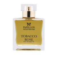 Tobacco Rose Eau de Parfum Spray 50ml by Papillon Artisan Perfumes.