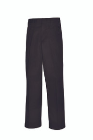 Male Pleated Front Pants - Black Only