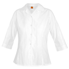 Girls Oxford 3/4 Sleeve Shirt  - WCA