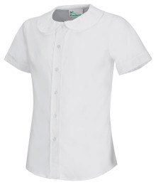 Classroom Girls Short Sleeve Peter Pan Blouse - FJCS