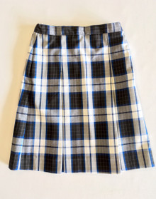Girls Box Pleat Skirt - P578