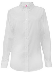 Long Sleeve Pinpoint Oxford Shirt - SFDA