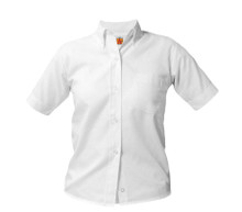 Girls Short Sleeve Oxford Shirt - MIT
