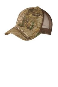 C930 - Port Authority® Structured Camouflage Mesh Back Cap - Trinity