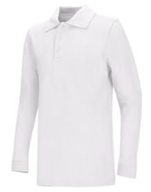 Classroom Interlock Long Sleeve Polo Shirt - TPA