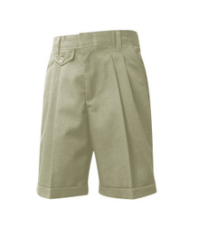 Female Shorts - Pleated Front