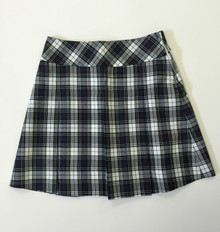 Girls Skirt - Low Rise Skirt in Plaid 8B