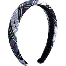 Padded Headband Plaid 8B