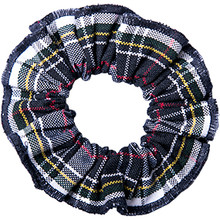 Hair Scrunchie Plaid 8B