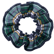 Hair Scrunchie Plaid 1B