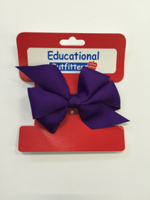 Mini Monarch Bow Purple