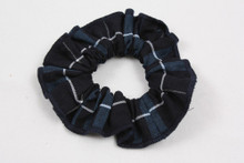 Hair Scrunchie Plaid 3D