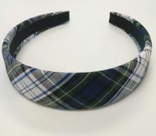 Padded Headband in Plaid 80