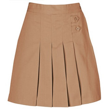 Girls Pleated Tab Skort
