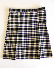 Girl's Box Pleat Skirt - P2M