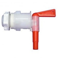 Red Plastic Italian Bottling Spigot