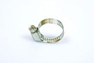 """Economy Stainless Steel Adjustable Clamp 5/8"""" - 7/8"""