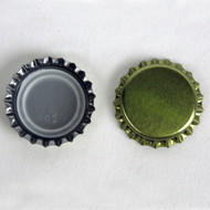 Brewcraft Crown Bottle Caps w/ oxy-liner (Gold) 144 ct