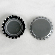 Brewcraft Crown Bottle Caps w/ oxy-liner  (Silver) 144 ct