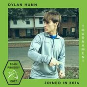 Dylan Hunn, Prodigy Disc Protegee, New generation of elite disc golfers.