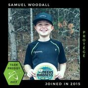 Sam Woodall, Prodigy Disc Protegee, New generation of elite disc golfers.