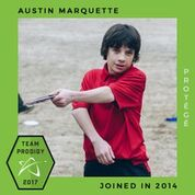 Austin Marquette, Prodigy Disc Protegee, New generation of elite disc golfers.