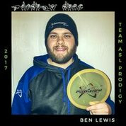 Ben Lewis member of the Prodigy Disc ASL Team