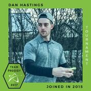 Dan Hastings, Member of the Prodigy's Tournament Team, Disc Golf Champions