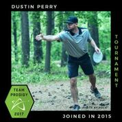 Dustin Perry, Member of the Prodigy's Tournament Team, Disc Golf Champions