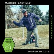 Marcos Castillo, Member of the Prodigy's Tournament Team, Disc Golf Champions