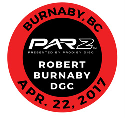 Disc Golf PAR2 Event. Robert Burnaby DGC, Burnaby, BC, Canada, April 22 2017