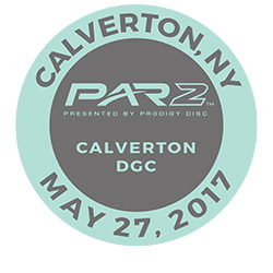 Disc Golf PAR2 Event. Calverton DGC, Calverton, NY, May 27. 2017