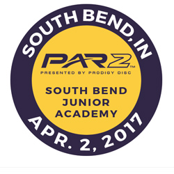 Disc Golf PAR2 Event. South Bend Junior Academy, South Bend, IN, April 2 2017